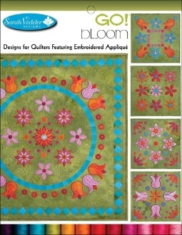Accuquilt GO! Bloom Embroidery CD