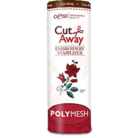 PolyMesh Cut-Away White 10 Inches by 10 Yards
