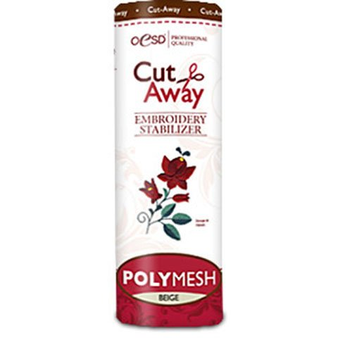 PolyMesh Cut-Away Beige 10 Inches by 10 Yards
