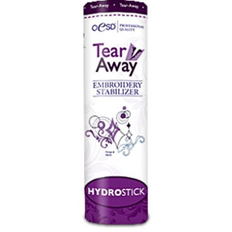 HydroStick Tear-Away LightWeight White 10 Inches by 5 Yards
