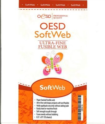 SoftWeb 8.5 inches x10 inches sheets 10/pkg