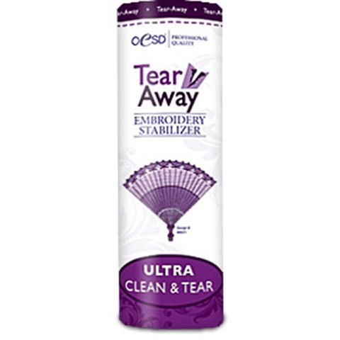 Ultra Clean & Tear White 20 Inches by 10 Yards