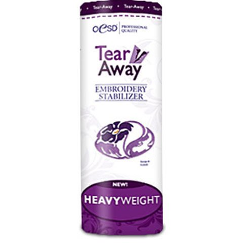 HeavyWeight Tear-Away White 10 Inches by 10 Yards