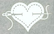 Decals-I Heart Sewing