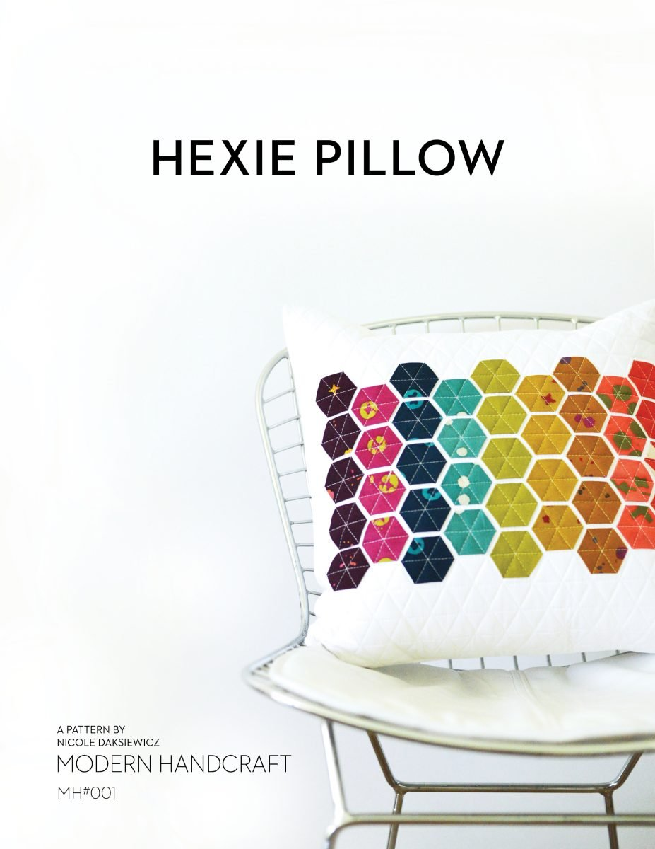 Hexie Pillow Pattern