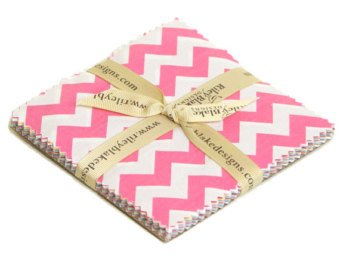 7 Inch Stackers - Small Chevron