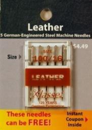 Klasse Needles- Leather 100/16