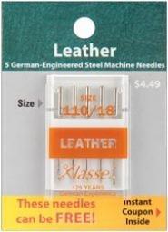 Klasse Needles- Leather 110/18