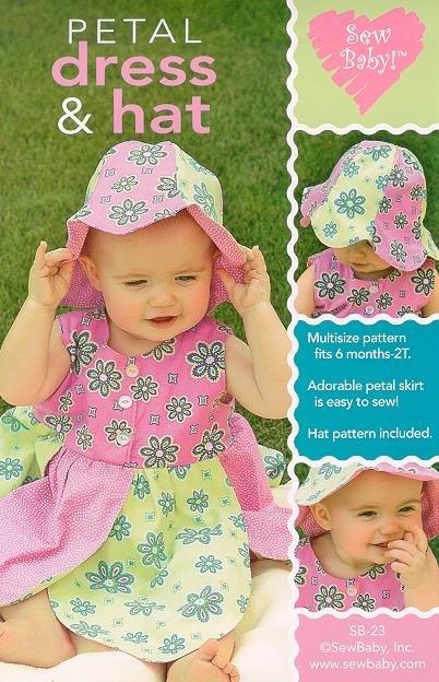 Petal Dress & Hat Pattern
