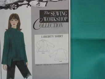 Liberty Shirt Kit- Caribbean Linen