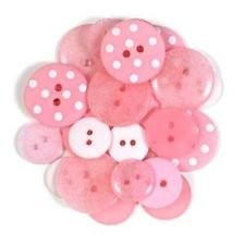 Assorted Buttons - Cupcake