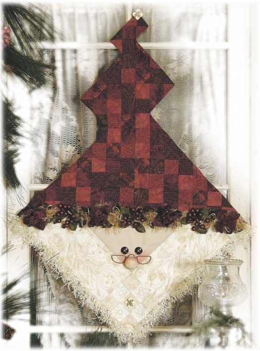 Nine Patch Santa Pattern