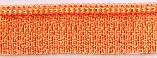 14 Inch Zipper - Orange Peel