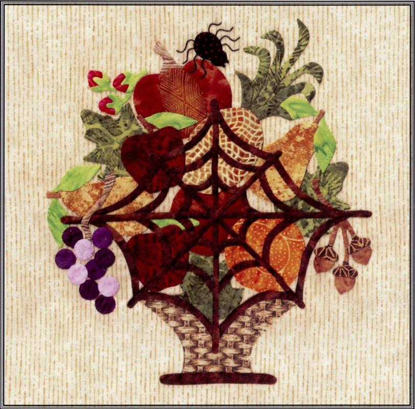 Baltimore Halloween-Pattern-Spider Web Basket
