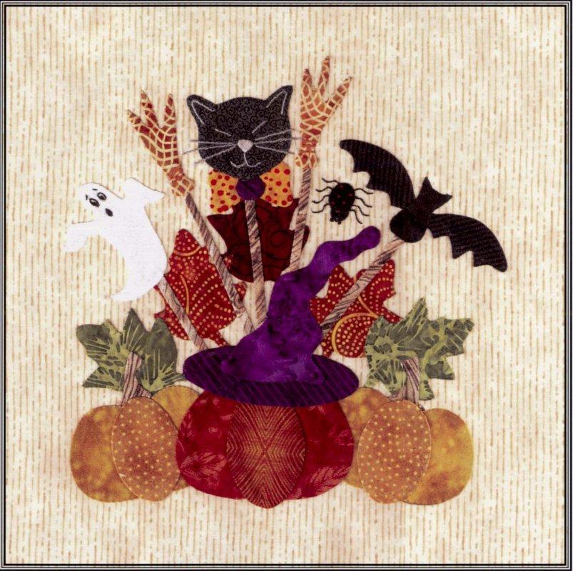 Baltimore Halloween-Pattern-Pumpkin Basket