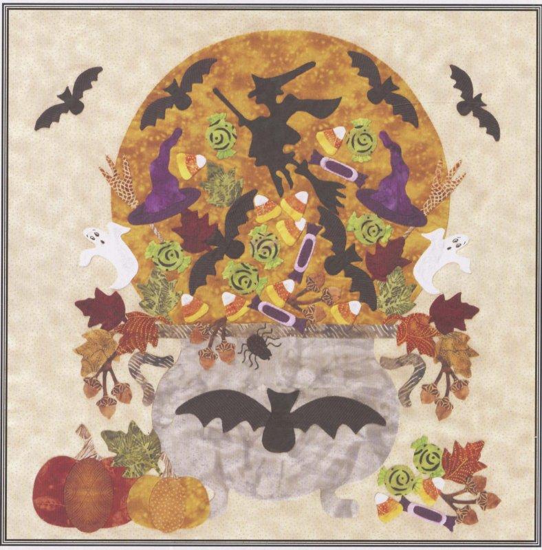 Baltimore Halloween-Pattern-Cauldron of Candy