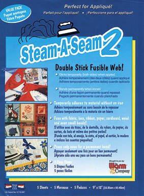 Steam a Seam 2  9 x 12 Inch Sheets