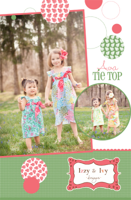 Ava Tie Top-Dress Pattern