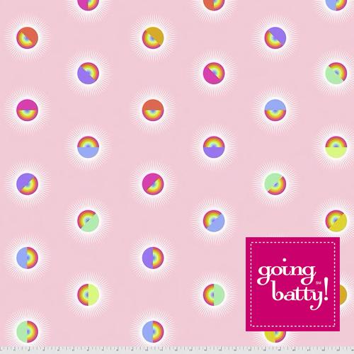 PRE-ORDER Tula Pink Daydreamer 108 Backing Saturdaze Guava- QBTP007.GUAVA