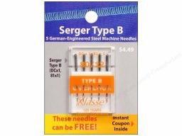 Klasse Needles- 81x1 80/12 Serger Type B