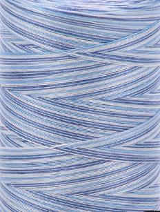 Aurifil 28 wt. Quilting Thread-Atlantic Blue Variegated-4655