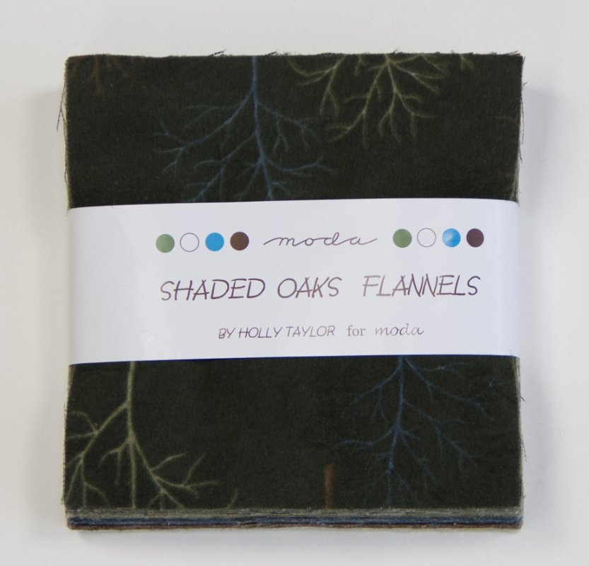 Shaded Oaks Flannel Charm Pack