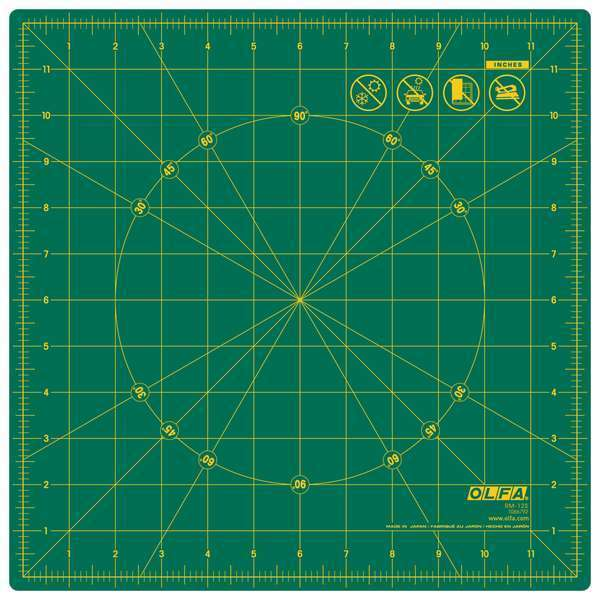 17 Inch Spinning Rotary Mat