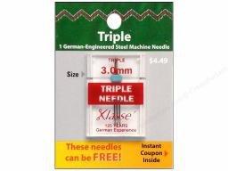 Klasse Needles- Triple Needle