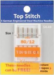 Klasse Needles- Topstitch 80/12