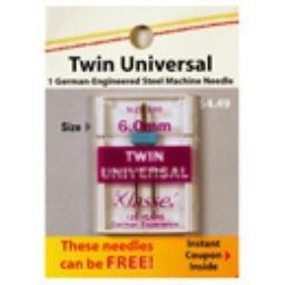 Klasse Needles- Twin Universal 6.0mm/100