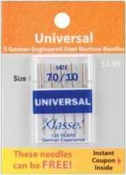 Klasse Needles- Universal 70/10