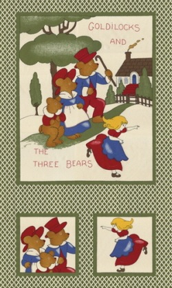 Washtub Bears Panel By The Panel