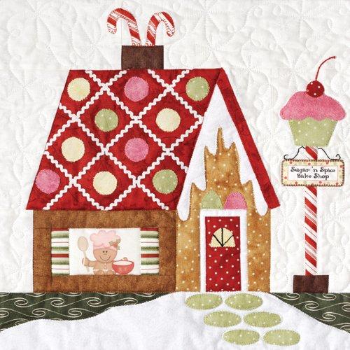 Gingerbread Village-Pattern #1 Sugar 'n Spice Bake Shop