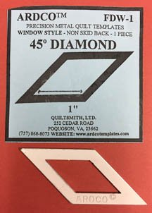 45 Degree Diamond 1 inch
