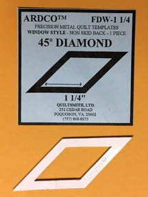 45 Degree Diamond 1 1/4 inch