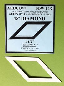 45 Degree Dimond 1 1/2 inch