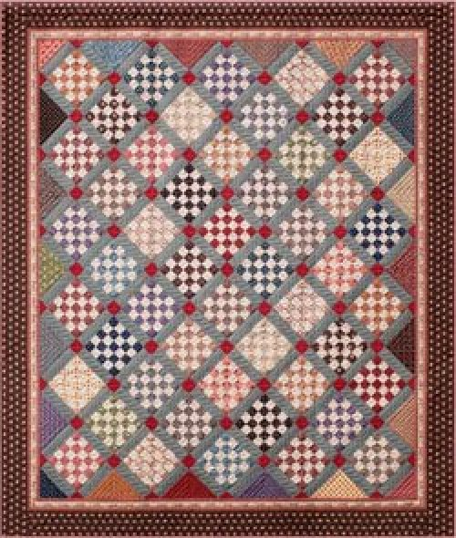 Judie'sTwenty-Fifth Anniversary Quilt Pattern 82 X 95
