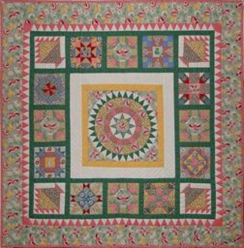 Aunt Grace Happy Birthday Pattern 36 X 36