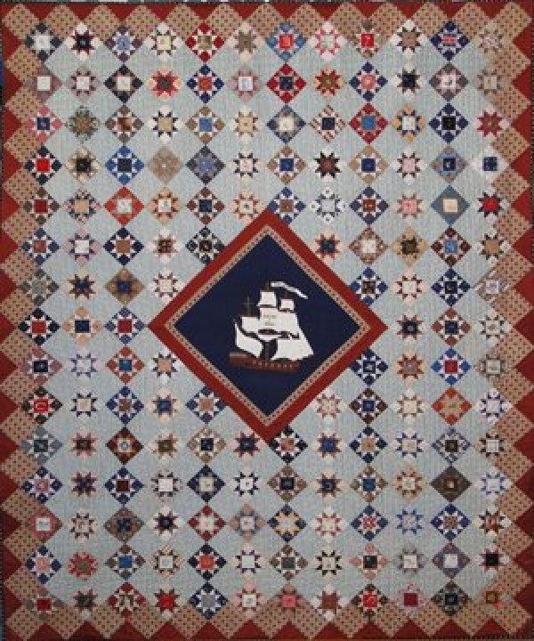 Civil War Anniversary Quilt Pattern 55 X 68