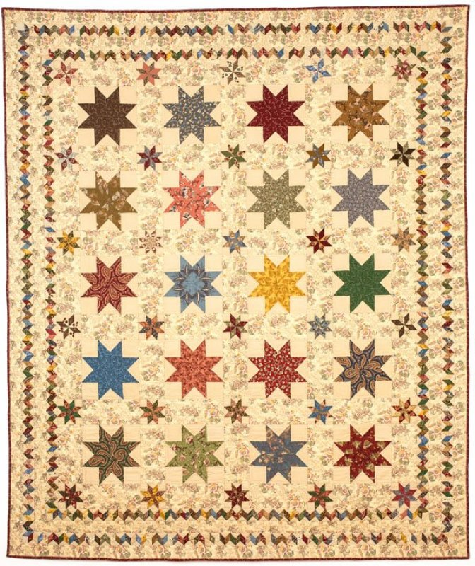Sturbridge Stars Pattern 78 X 92