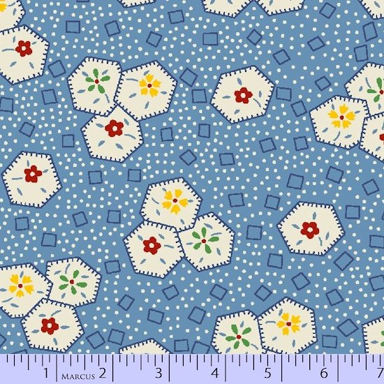 Aunt Grace 60 inch Quilt Back (2 yards left)