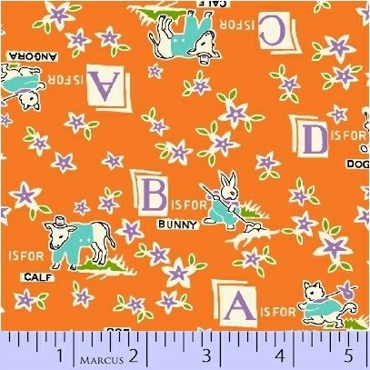 Aunt Grace Baskets of Scraps 8087-0328 (6 yards Left)