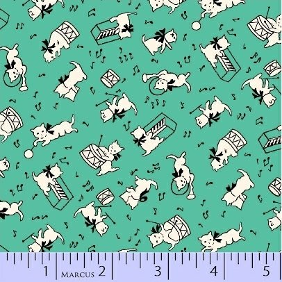 Aunt Grace Baskets of Scraps 8090-0314  (1 yard left)