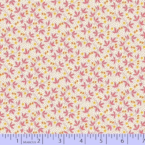 Aunt Grace Flower Pots 8448-0526 (2 yards left)