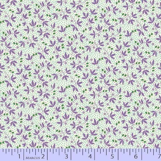 Aunt Grace Flower Pots 8448-0535  (2 yards left)