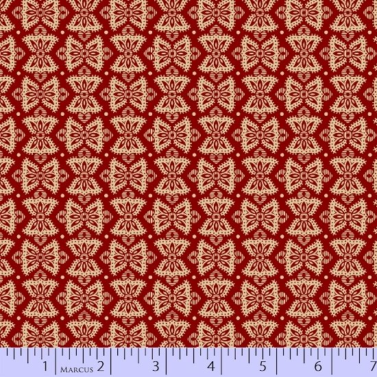 Heritage Red And Green 8475-0511 (1/2 yard left)
