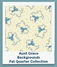 Aunt Grace Backgrounds Fat Quarter Collection