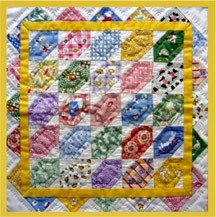 Aunt Grace Cracker Quilt 13 X 13