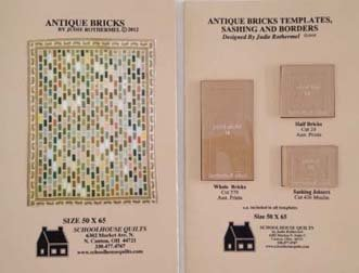 Antique Bricks Template