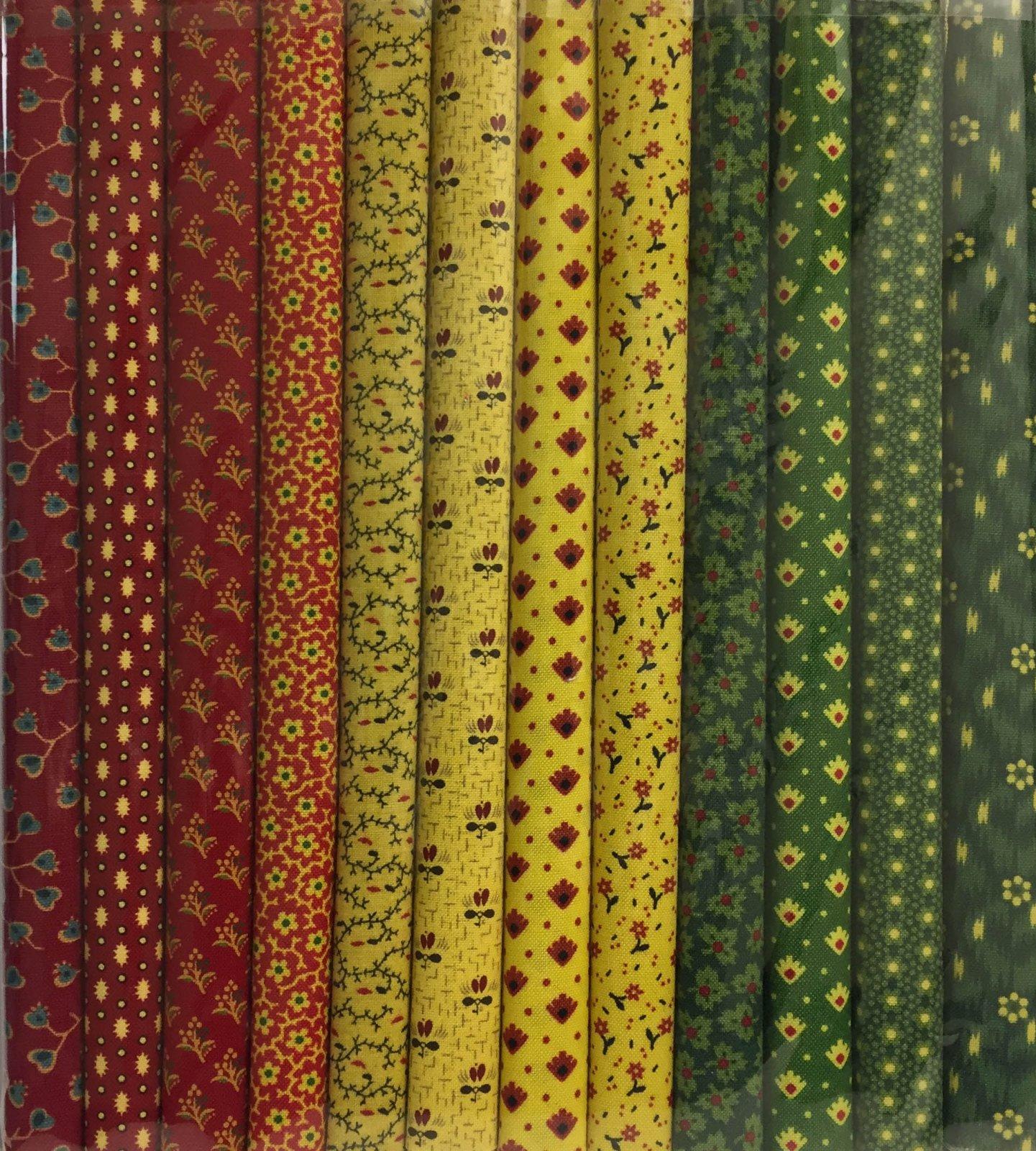 Fabric Packs 9 X 22  Baltimore